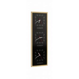 Zegar potrójny pionowy